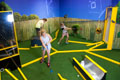 Mini golf in Backyard Adventures. Credit: Imagine Exhibitions, Inc.