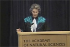 Temple Grandin speaking at the Academy of Natural Sciences