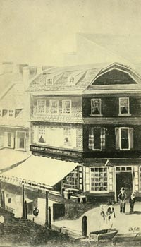 photo of an early 19th century building in Philadelphia