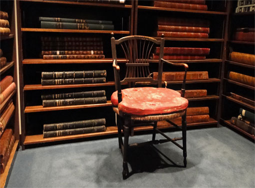 photo of Darwin's chair