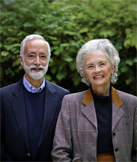 portrait of Robert M. Peck and Patricia Tyson Stroud