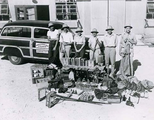 photo of early environmental research