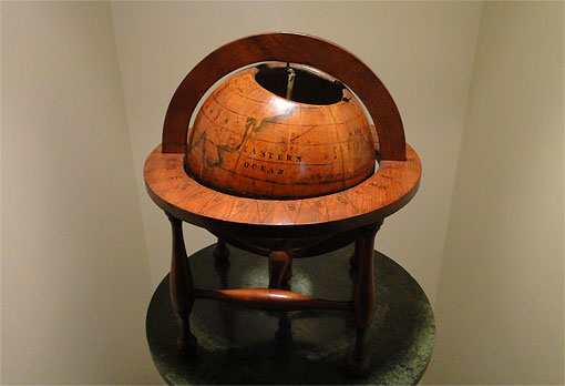 photo of the Symmes Globe