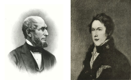 portraits of Charles Pickering and Titian Peale
