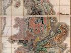geologic map created by William Smith