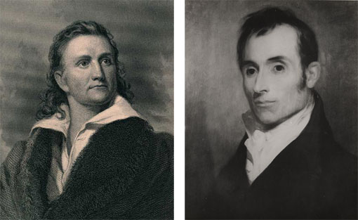 portraits of J. J. Audubon and Alexander Wilson