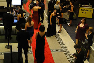 guest enter the Academy during the First Annual Philadelphia Geek Awards