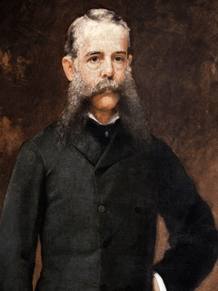 Portrait of C. M. Clark