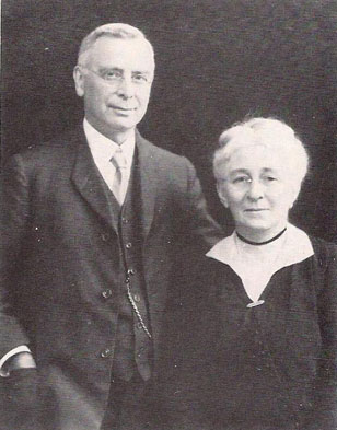 Portrait of William and Eleanor Elkinton